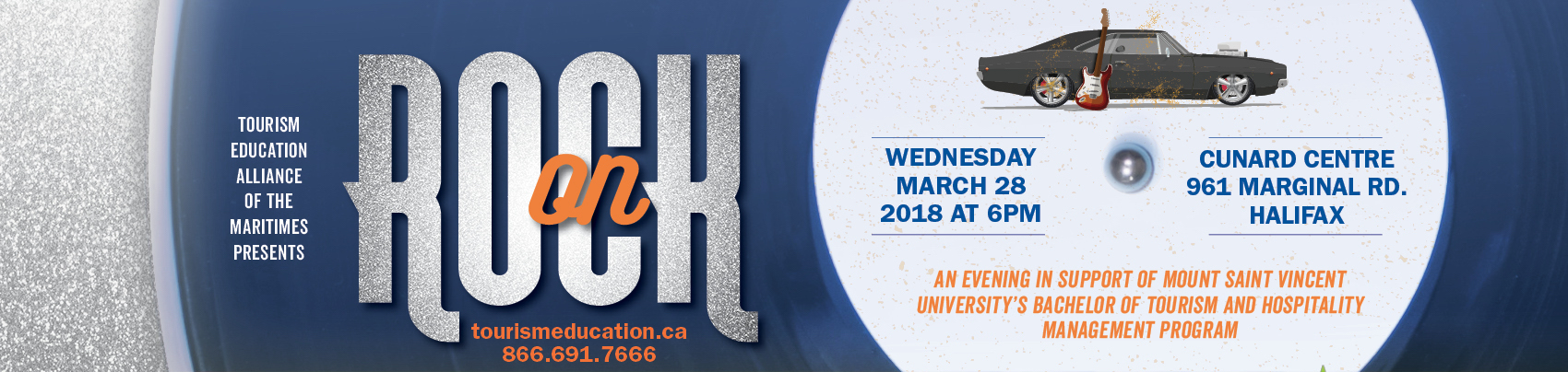 Tourism Education Alliance of the Maritimes 2018 Rock On Charity Auction