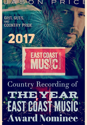 Jason Price - 2017 ECMA Country Recording of the Year Nominee