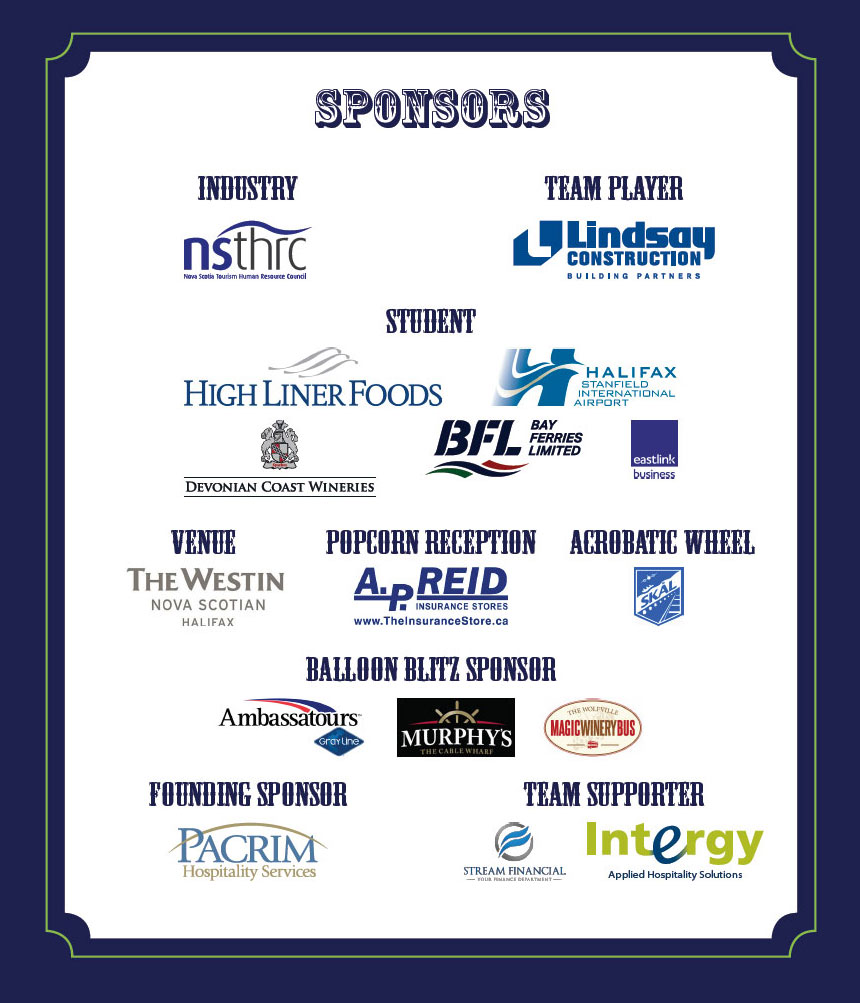 2016 TEAM Under the Big Top Event Sponsors